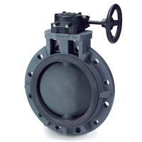 Butterfly Valve Gear Operated Full Flanged Type